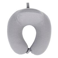 Cestovní polštářek Comfort šedá, 31 x 29 cm