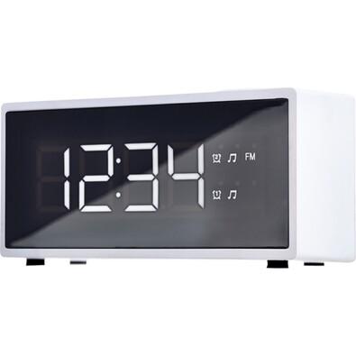 ECG RB 040 Digitális radiós ébresztőóra fehér