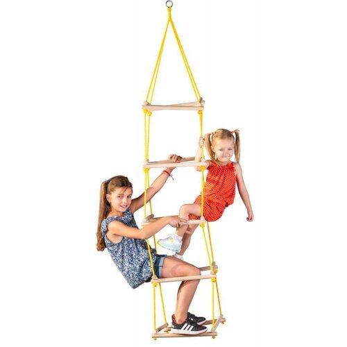 Woody povrazový rebrík, 40 x 40 x 195 cm