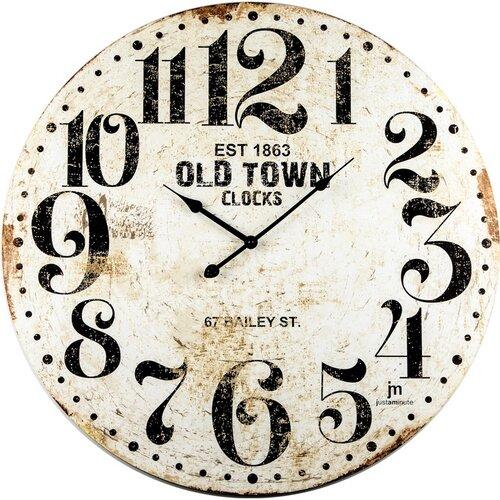 Lowell 21486 Designové nástěnné hodiny pr. 60 cm