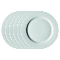 Mäser Sada mělkých talířů Clasico 27 cm, 6 ks, bílá