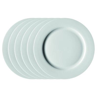 Mäser Sada plytkých tanierov Clasico 27 cm, 6 ks, biela