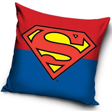 Polštářek Superman Duo, 40 x 40 cm