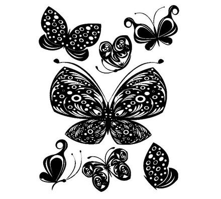 Samolepicí dekorace Motýli