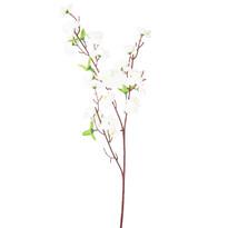 Umelá vetvička Broskyňa biela, 65 cm