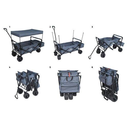 Cattara Kempingový vozík skladací Trogir Roof