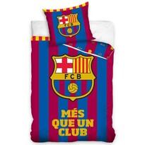 Pościel bawełniana FC Barcelona Więcej niż tylko klub, 140 x 200 cm, 70 x 80 cm