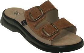 Pánské zdravotní pantofle, černá, 42