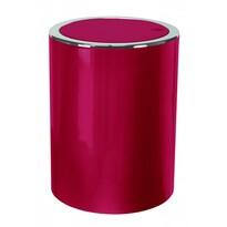 Kleine Wolke Kosmetický odpadkový koš Clap 5 l, červená