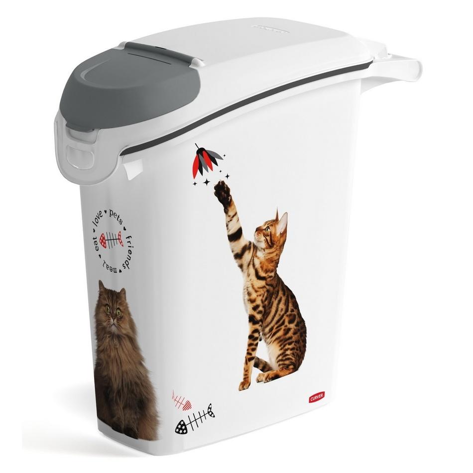 Fotografie Curver 03882-L30 kontejner na krmivo kočka 10 kg