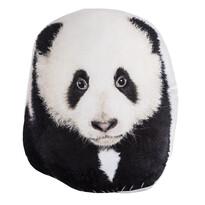 Panda formázott párna, 30 x 37 cm