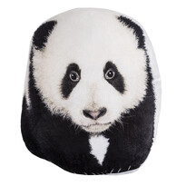 Pernă cu formă aparte Panda, 30 x 37 cm