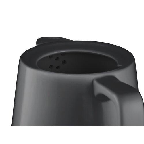 Concept RK0062 keramická rychlovarná konvice 1 l, tm. šedá