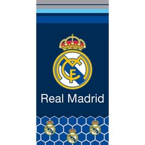 Prosop Real Madrid Hexagons, 70 x 140 cm