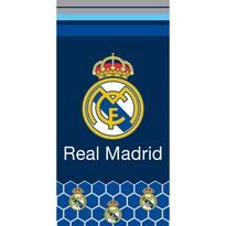 Real Madrid Hexagons törölköző, 70 x 140 cm