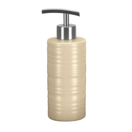 Dozownik mydła duży beżowy