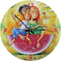 Art Puzzle hodiny Milujeme červenou, 570 dílků