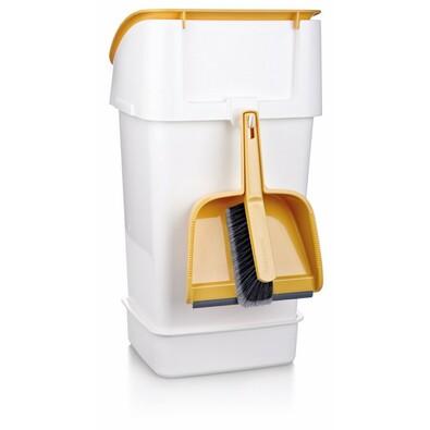Tescoma CLEAN KIT odpadkový koš 21 l se smetáčkem lopatkou a sáčky