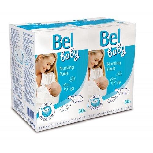 Bel Baby prsné vložky duopack 2 x 30 ks