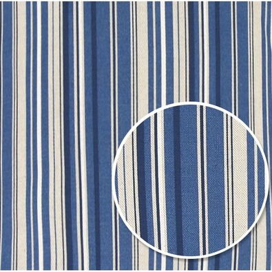 Ubrus Ivo Proužek modrá, 120 x 140 cm