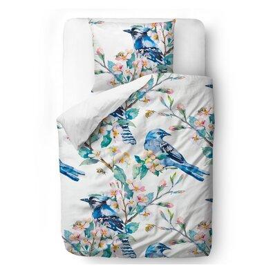 Butter Kings Spring themes szatén ágynemű, 140 x 200 cm, 70 x 90 cm