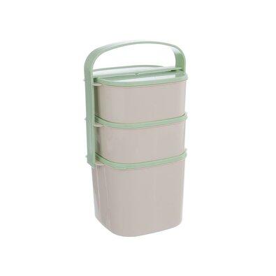 Orion Plastový jídlonosič Almi 2 l + 2 x 1,15 l