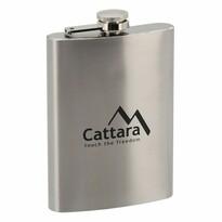 Ploscă argintie Cattara, 235 ml