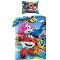Lenjerie de pat Super Wings 5507, pentru copii , 140 x 200 cm, 70 x 90 cm