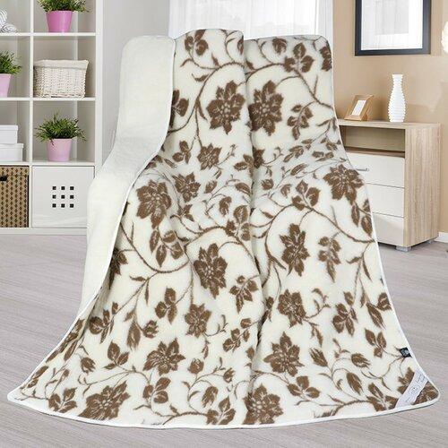 Bellatex Vlnená deka Európske merino DUO Tapia, 155 x 200 cm