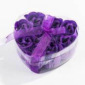 Mýdlové květy fialové