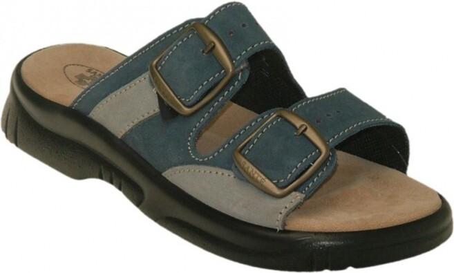Dámské zdravotní pantofle Santé, modrá, 38