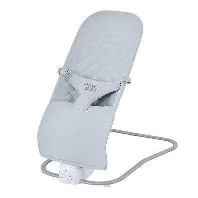 New Baby Detské hojdacie ležadlo Shaky, sivá
