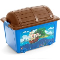 KIS Pojemnik dekoracyjny do przechowywania W Box Toy Pirate, 50 l