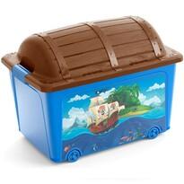 KIS W Box Toy Pirate dekor tárolódoboz, 50 l