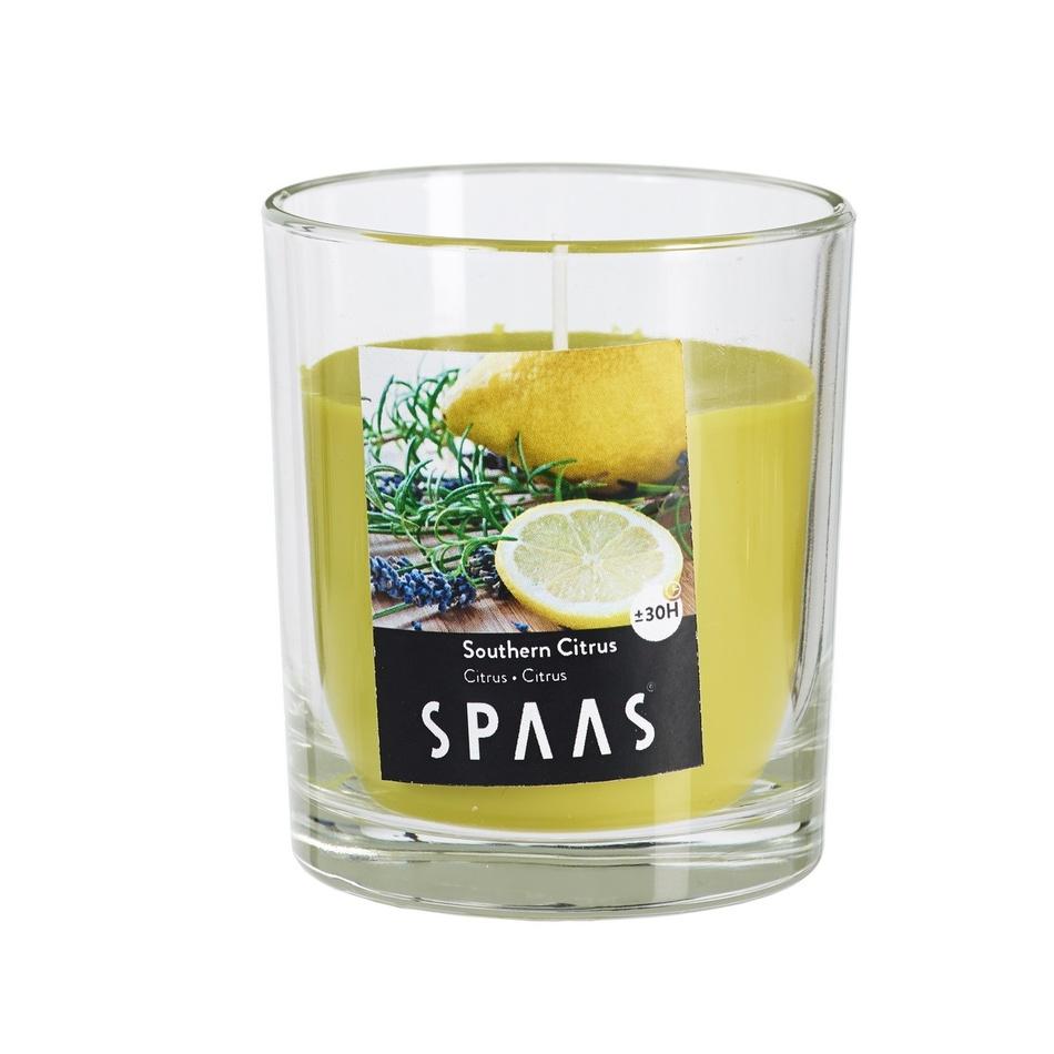 Svíčka Spaas Citrus 7 x 7,7 cm, 7 cm