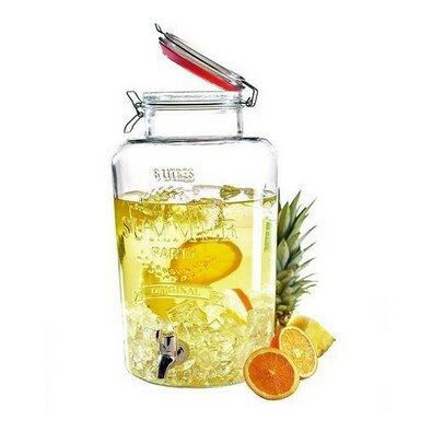 Nápojová láhev na vodu s kohoutkem SUMMER FUN, 8 l