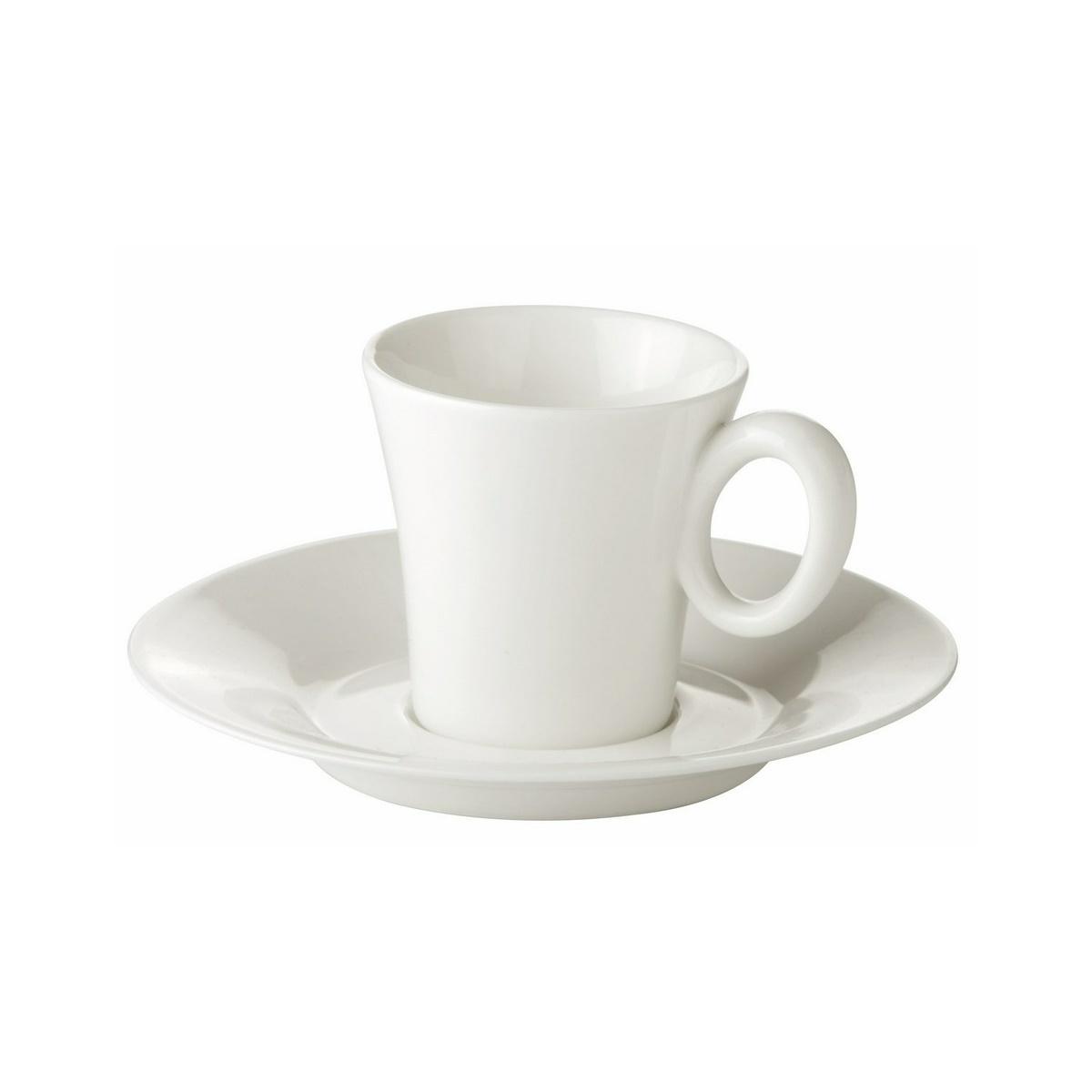 Šálka na espresso ALLEGRO s podšálkou, 80 ml