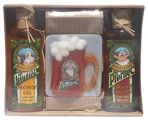 Kosmetická sada Pivrnec se sprchovým gelem