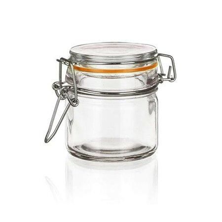 Banquet Pojemnik szklany hermetyczny Lina 100 ml, sada 8 szt.
