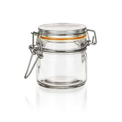 Banquet Pojemnik szklany hermetyczny Lina 100 ml, sada 6 szt.