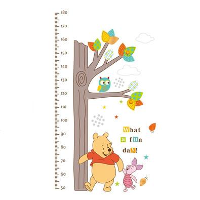 Samolepicí dekorace metr Medvídek Pů