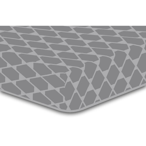 DecoKing Rhombuses lepedő, szürke S2, 90 x 200 cm