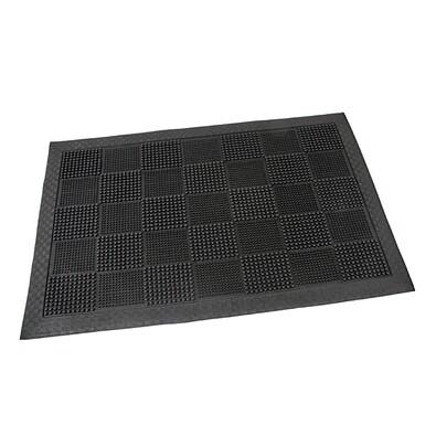 Vonkajšia rohožka Pin squares, 40 x 60 cm