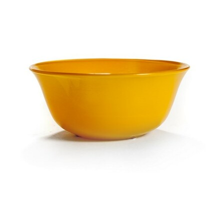 Miska Luteo 12,7 cm, 6 kusů, žlutá