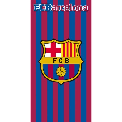 Osuška FC Barcelona Stripes 2015, 75 x 150 cm