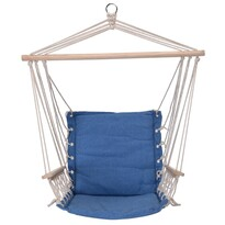 Comfortable függeszthető fotel, kék, 100x 53 cm