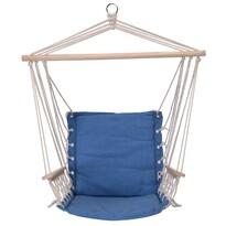 Závesné hojdacie kreslo Comfortable modrá, 100 x 53 cm