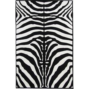 Tempo Kondela Kusový koberec Zebra, 100 x 140 cm