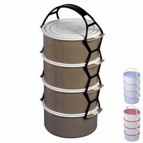 Orion Műanyag ételhordó 4 emeletes 1,15 l