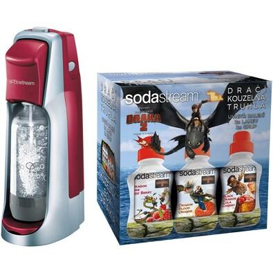 Sodastream Jet Red LE DRAGON výrobník sody